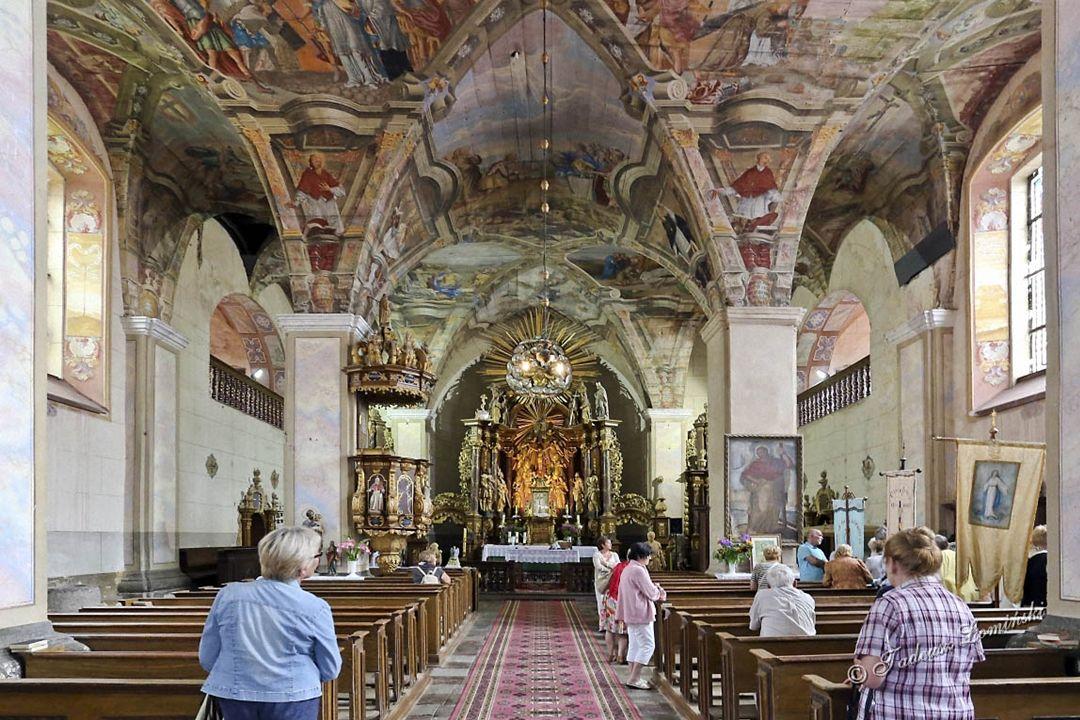 Pomimo zniszczeń pewnych detali kościół w niezmienionym stanie przetrwał do dnia dzisiejszego.