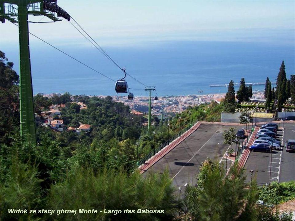 Na stacji górnej Monte - Largo das Babosas
