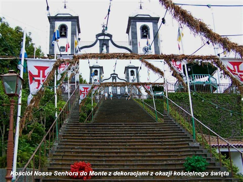 Kaplica w kościele Nossa Senhora do Monte w której pochowany jest Karol I Habsburg