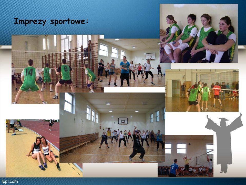 Imprezy sportowe: