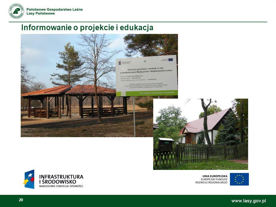 20 Informowanie o projekcie i edukacja