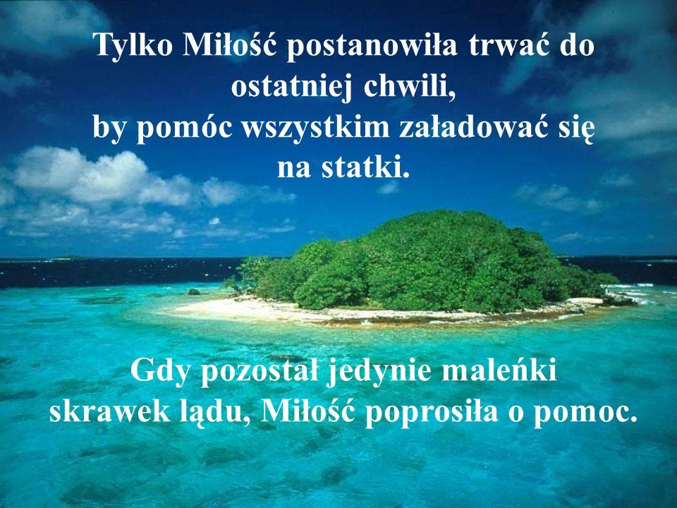 Pewnego dnia mieszkańcy wyspy dowiedzieli się, że niedługo wyspa zatonie.