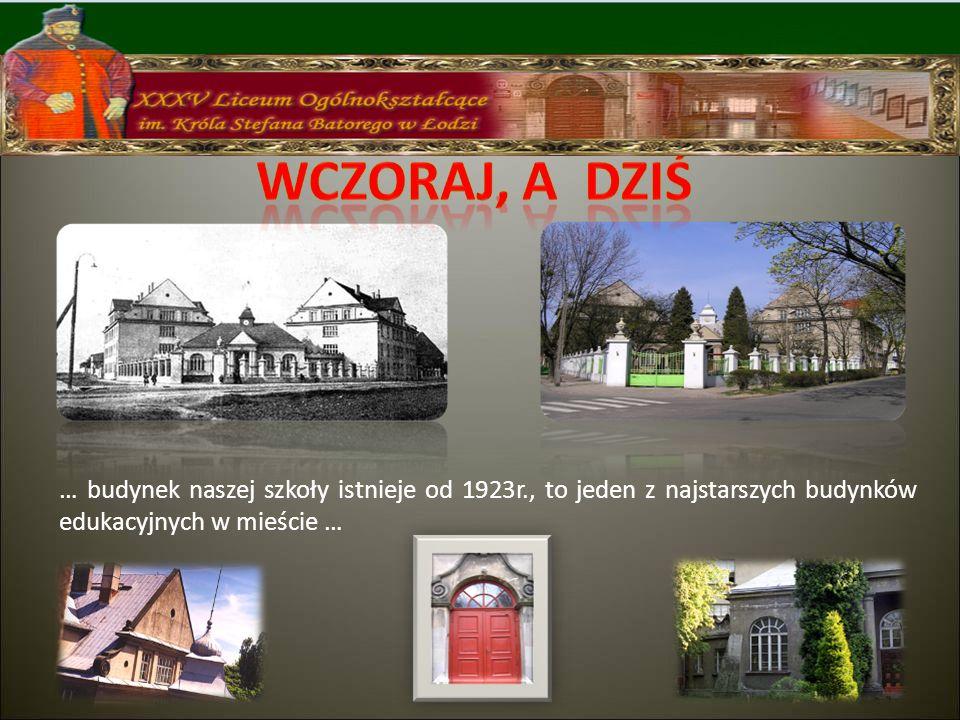 Projektantem budynku szkoły był Wiesław Lisowski Jeden z budynków zajmuje Zespół Szkół Specjalnych nr 2 drugi - XXXV Liceum Ogólnokształcące poprzednio przez wiele lat szkoła pielęgniarska Obydwa budynki stykają się z salą gimnastyczną, podobną do szlacheckiego dworku, z wysokim dachem i kolumnowym gankiem.