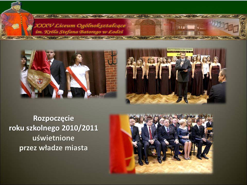 Rozpoczęcie roku szkolnego 2010/2011 uświetnione przez władze miasta