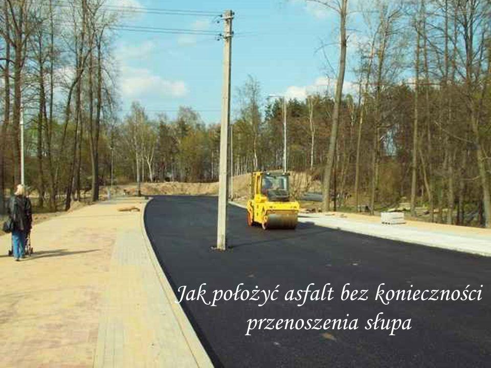Oszczędne budowanie drogi