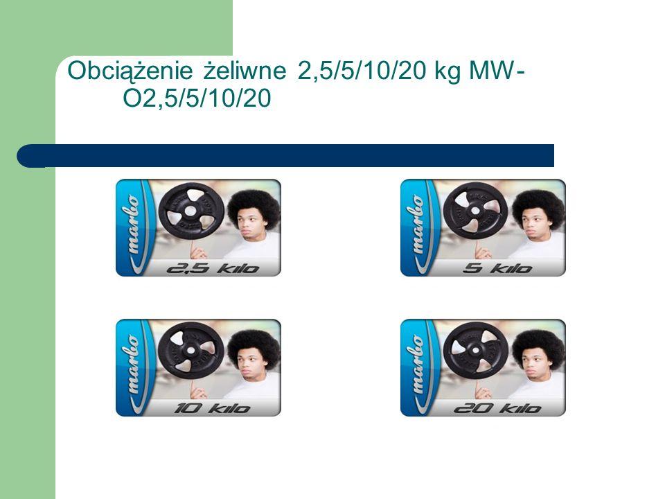 Obciążenie żeliwne 2,5/5/10/20 kg MW- O2,5/5/10/20