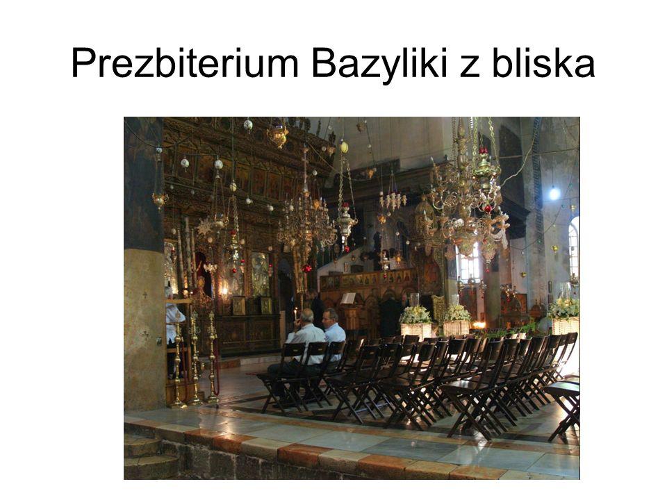Prezbiterium Bazyliki z bliska