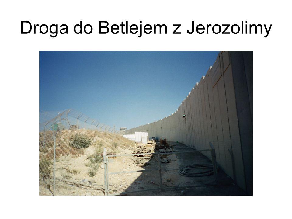 Droga do Betlejem z Jerozolimy