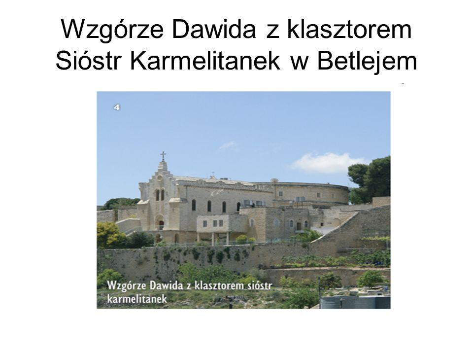 Wzgórze Dawida z klasztorem Sióstr Karmelitanek w Betlejem