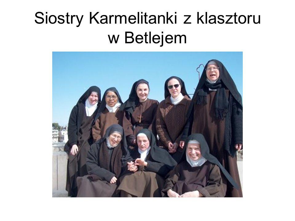 Siostry Karmelitanki z klasztoru w Betlejem