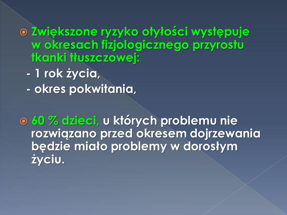  Androidalna - ( brzuszna )  Gynoidalna - ( okolice bioder i ud ) ( okolice bioder i ud )  Ogólna - u dzieci głównie
