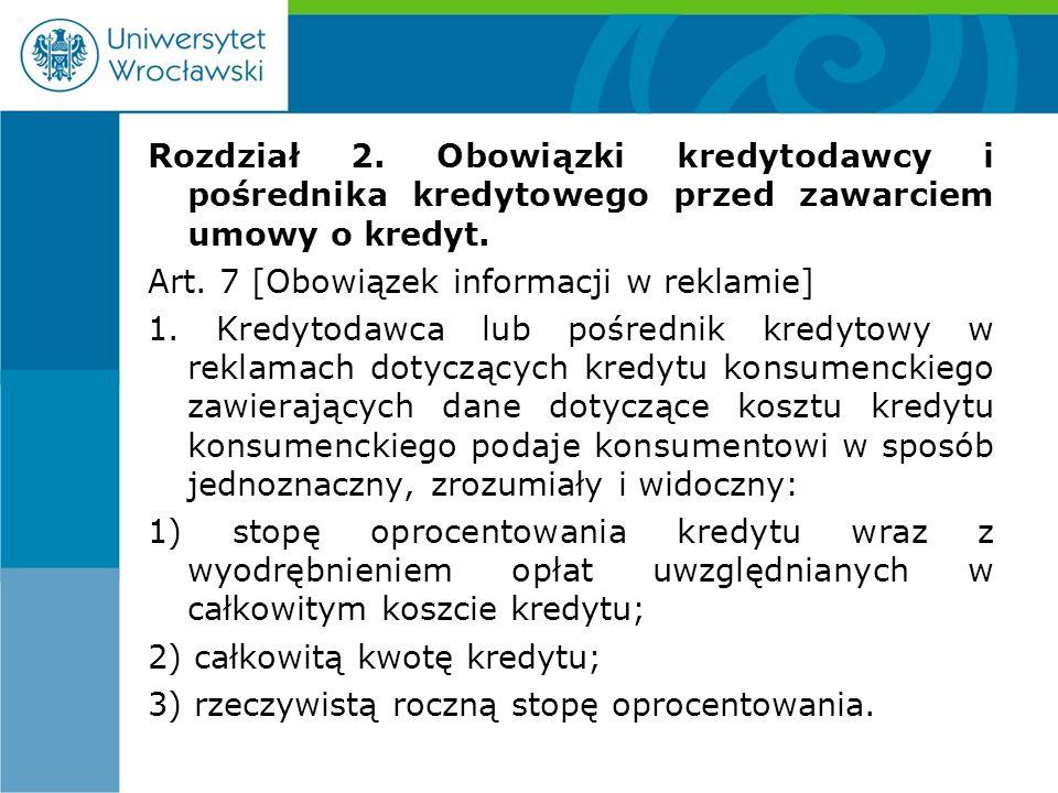 Art.29 [Wymogi formalne umowy] 1.