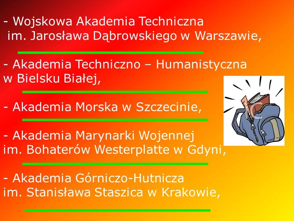 - Wojskowa Akademia Techniczna im.