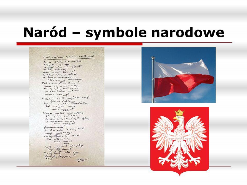 Naród – symbole narodowe