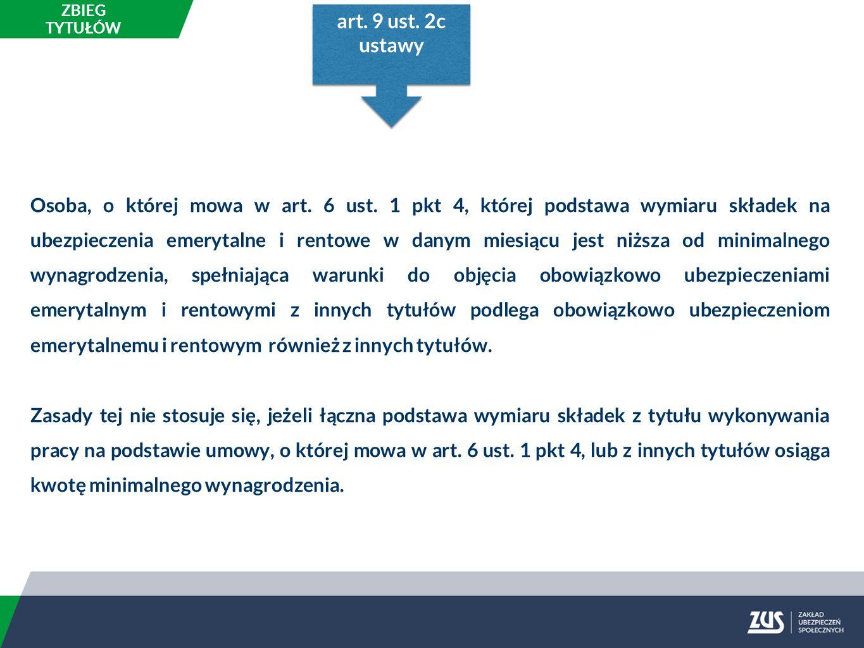 Zasady stosowania art.9 ust.