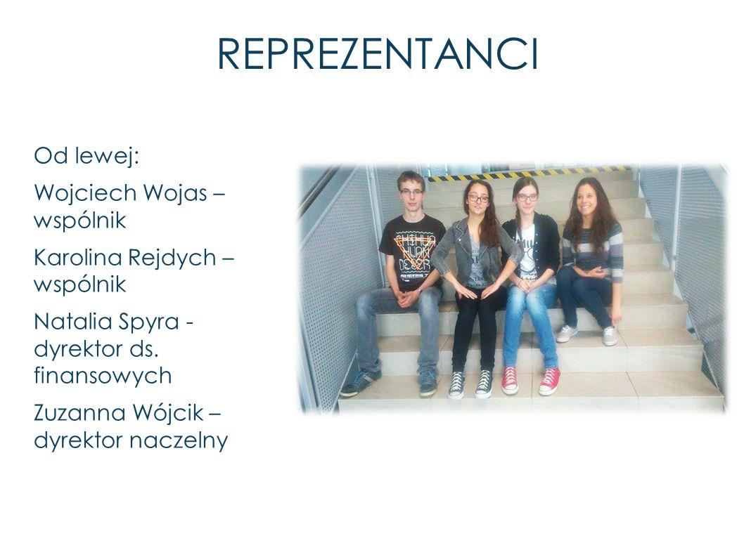 REPREZENTANCI Od lewej: Wojciech Wojas – wspólnik Karolina Rejdych – wspólnik Natalia Spyra - dyrektor ds.