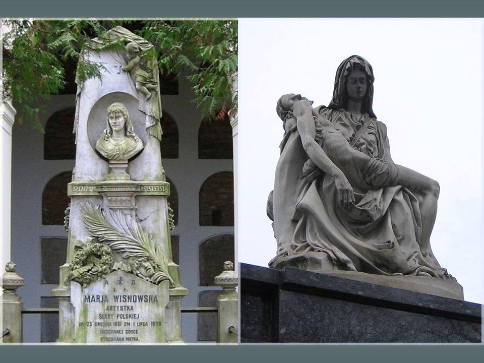 Grobowiec aktorki Marii Wisnowskiej
