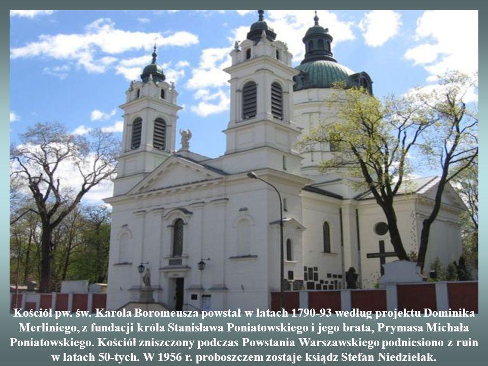 Ten najstarszy zabytkowy cmentarz warszawski powstał w 1790 r. Fundatorem miejsca pod przyszły cmentarz był starosta klonowski Melchior Karol Szymanow