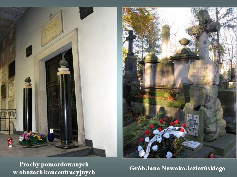 Grób Stefana StarzyńskiegoGrób Ignacego Mościckiego