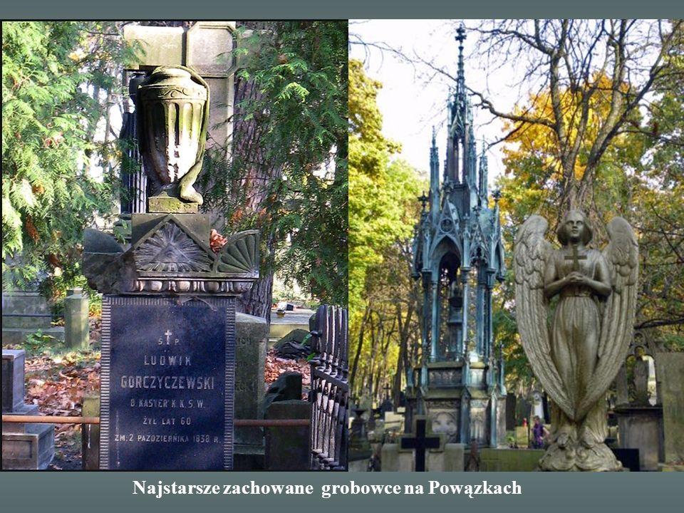 Grobowiec fundatora Powązek starosty klonowskiego Melchiora Karola Szymanowskiego pochowanego w 1797 r.