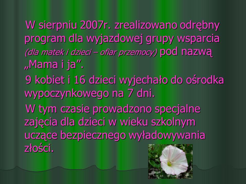 W sierpniu 2007r.