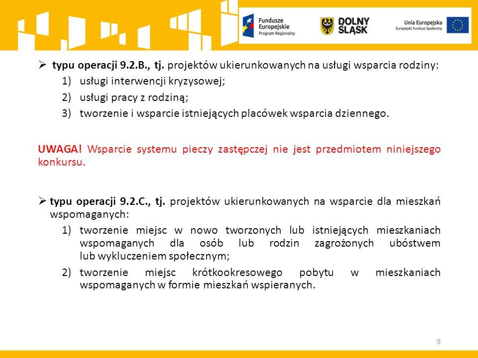 Kryteria merytoryczne w konkursie 9.2.4 50