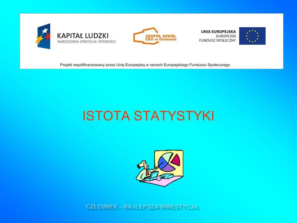 ISTOTA STATYSTYKI