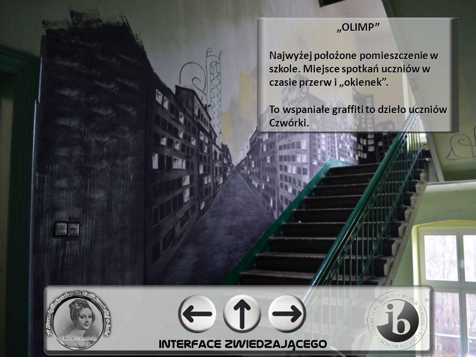 """""""OLIMP Najwyżej położone pomieszczenie w szkole."""