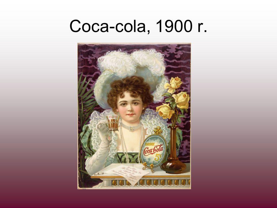 Coca-cola, 1900 r.