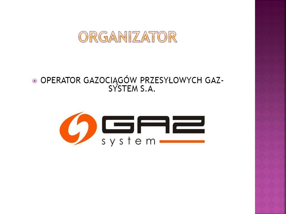  OPERATOR GAZOCIĄGÓW PRZESYŁOWYCH GAZ- SYSTEM S.A.