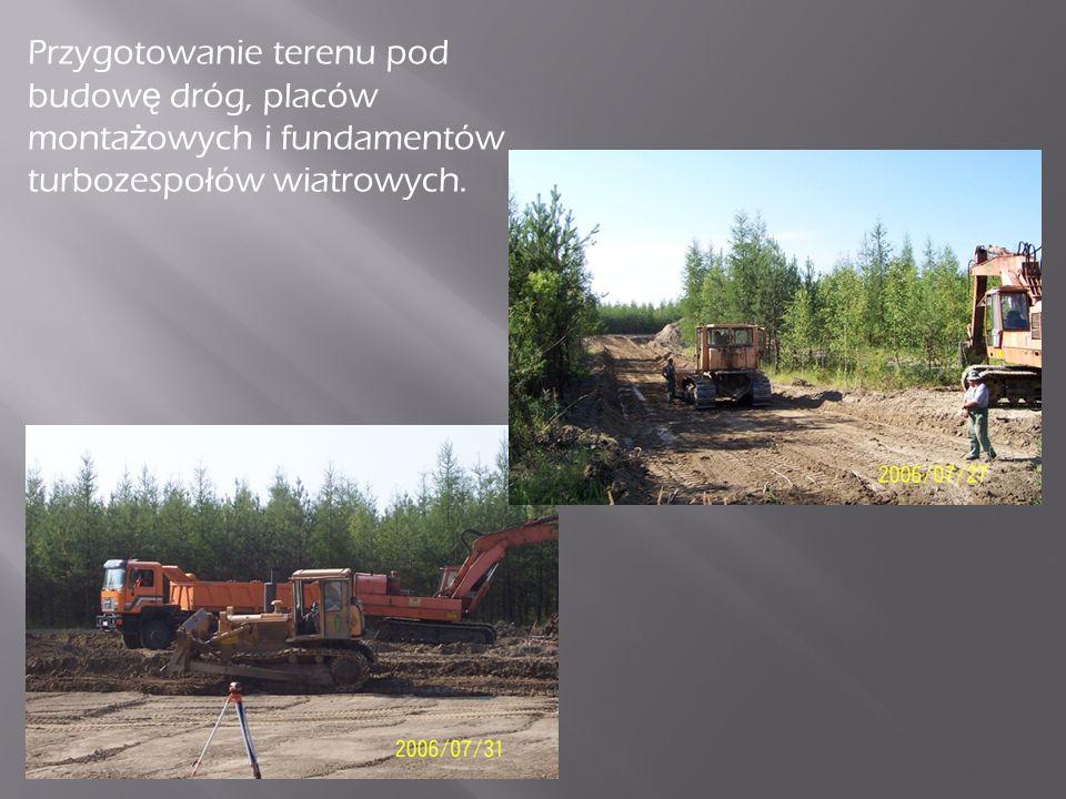 Budowa elektrowni podzielona była na kilka etapów