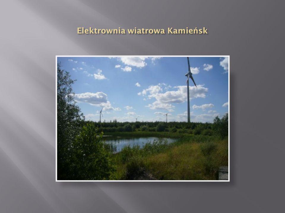  Elektrownia wiatrowa to zespół urządzeń produkujących energię elektryczną, wykorzystujących do tego turbiny wiatrowe. Energia elektryczna uzyskana z
