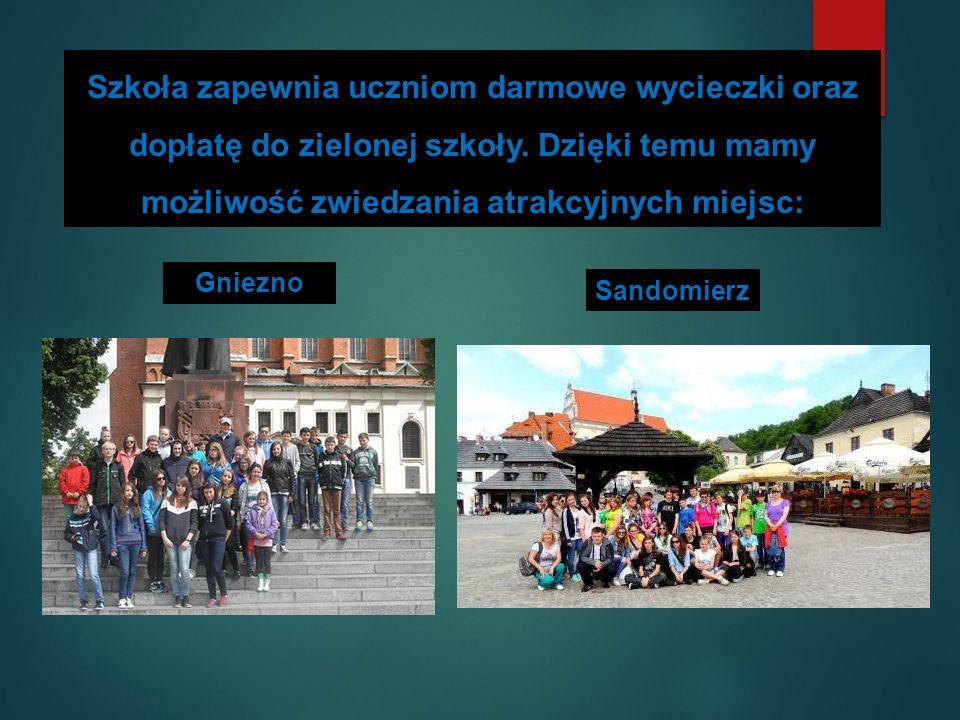 Ponadto uczestniczymy w takich programach jak: