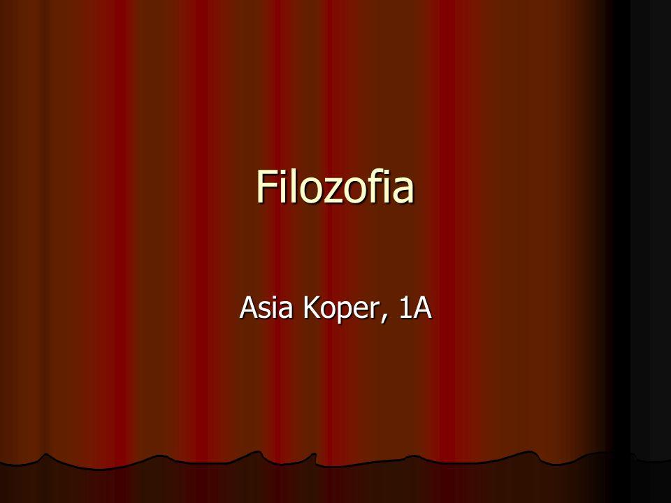 Filozofia Asia Koper, 1A