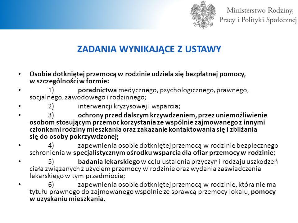 KRAJOWY PROGRAM PRZECIWDZIAŁANIA PRZEMOCY W RODZINIE NA LATA 2014- 2020 W dniu 29 kwietnia 2014 r.