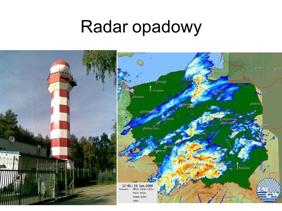 Radar opadowy