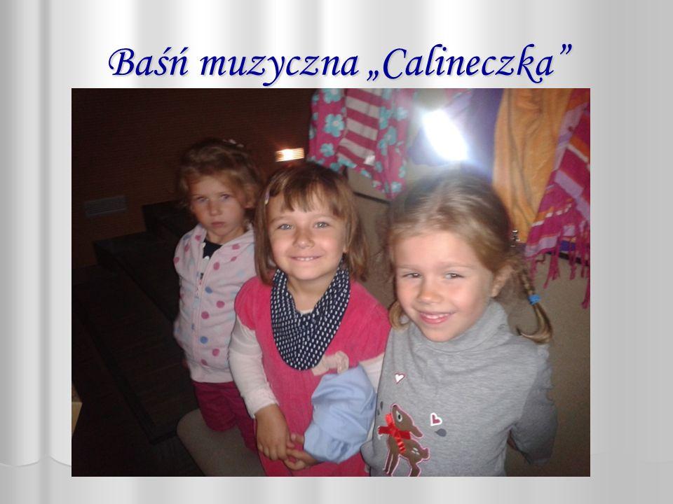 """Baśń muzyczna """"Calineczka"""
