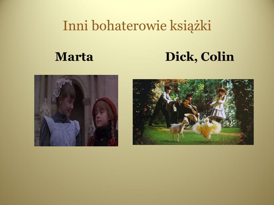 Inni bohaterowie książki MartaDick, Colin
