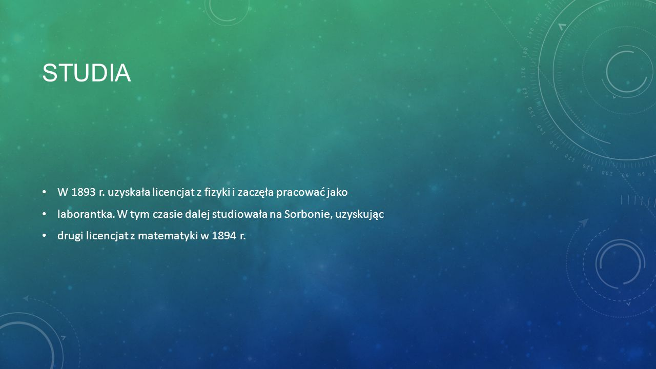Koniec Wykonały: Martyna Wojda Katarzyna Mularska