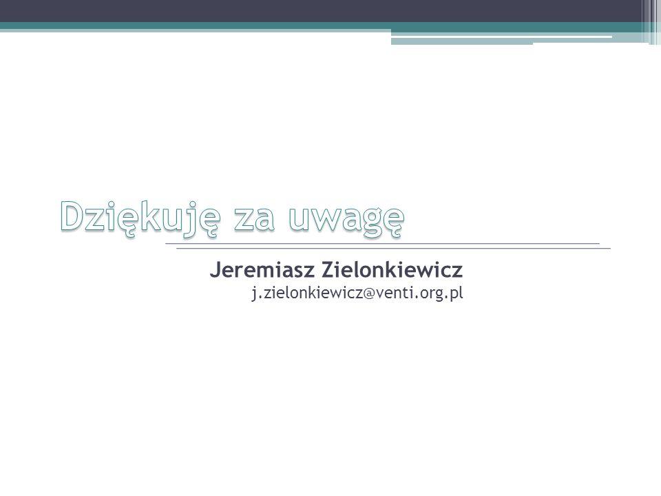 Jeremiasz Zielonkiewicz j.zielonkiewicz@venti.org.pl