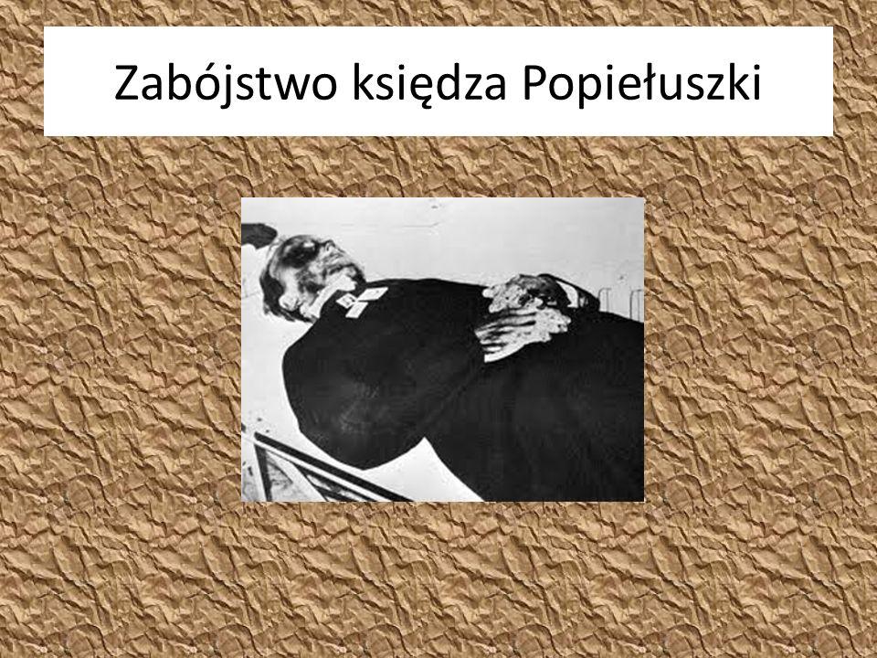 Zabójstwo księdza Popiełuszki