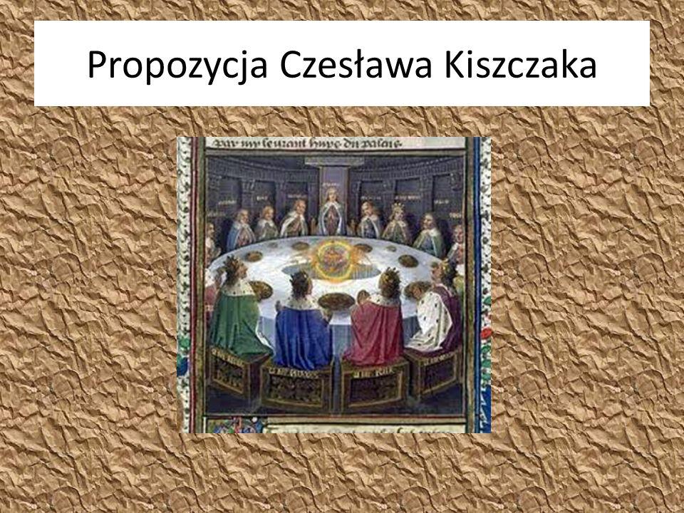 Propozycja Czesława Kiszczaka