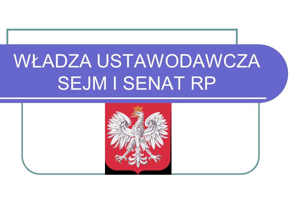 Najważniejsze pojęcia Parlament = Sejm, Senat Zgromadzenie Narodowe = Sejm+Senat Sejm= Izba Niższa Parlamentu Senat =Izba Wyższa Parlamentu