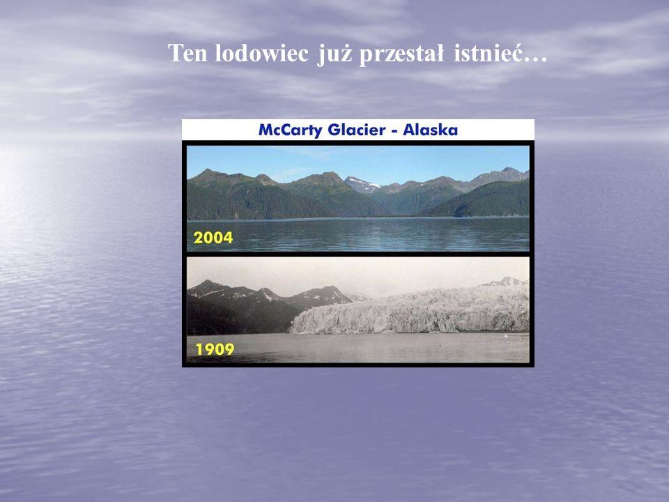 Sławny, położony w USA Park Narodowy Glacier znika w oczach.