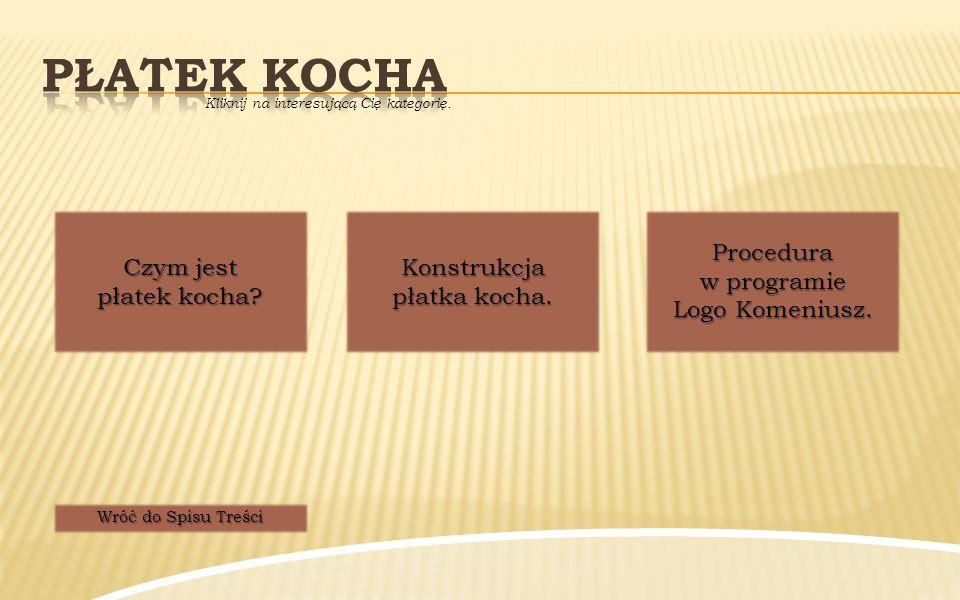 """ Płatek Kocha, zwany również śnieżynką Kocha, jest krzywą matematyczną i fraktalem (obiektem """"samo-podobnym ), opracowanym po raz pierwszy w roku 1904 przez szwedzkiego matematyka Helge von Kocha."""