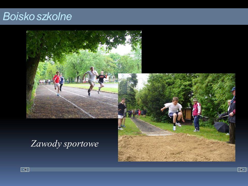 Boisko szkolne Zawody sportowe