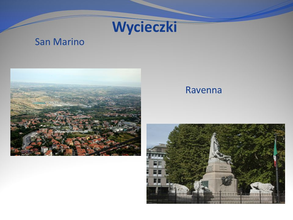 Wycieczki San Marino Ravenna
