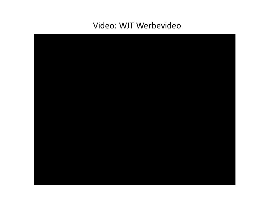 Video: Der WJT ist mehr als das Event