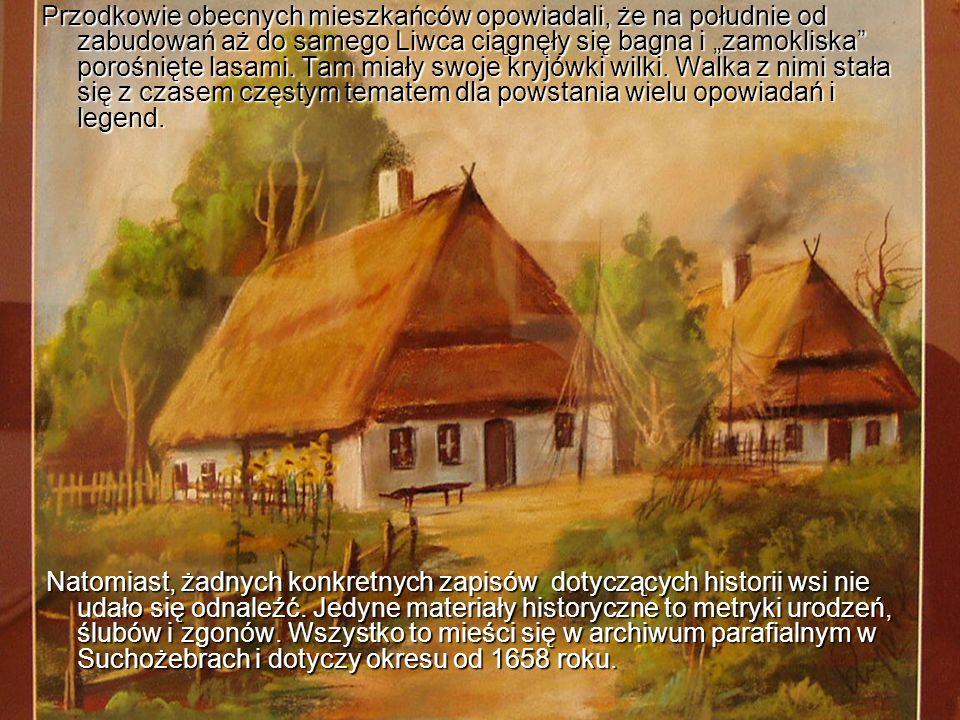 Na podstawie tych materiałów można ustalić nazwiska i ilość rodzin zamieszkałych w dawnym okresie we wsi.