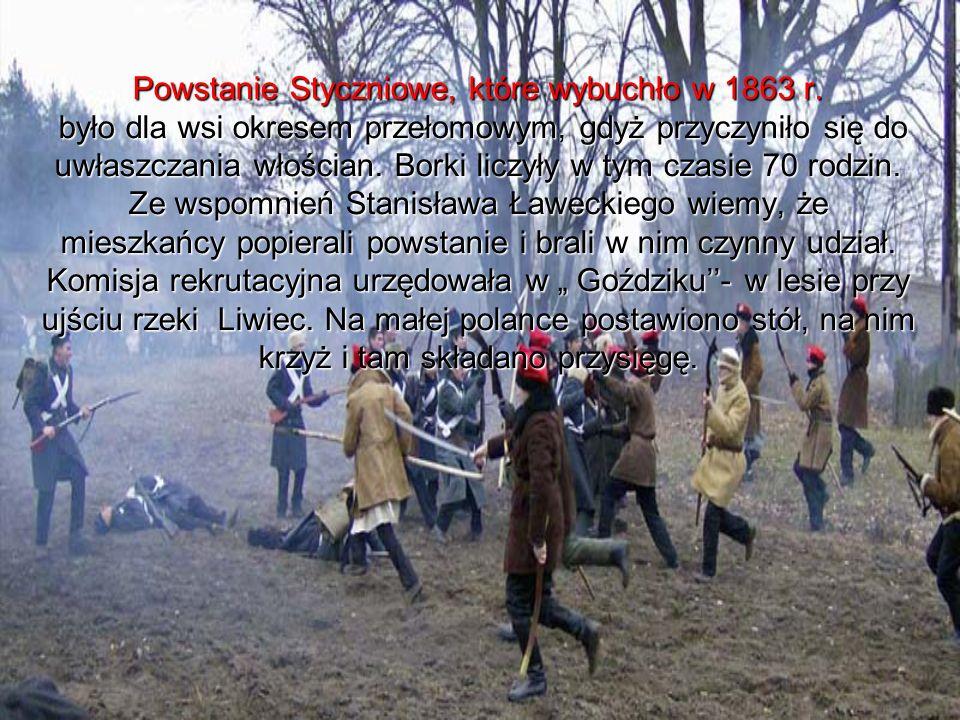 Powstanie Styczniowe, które wybuchło w 1863 r.